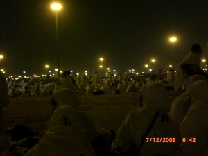 bermalam di Muzdalifah 2008